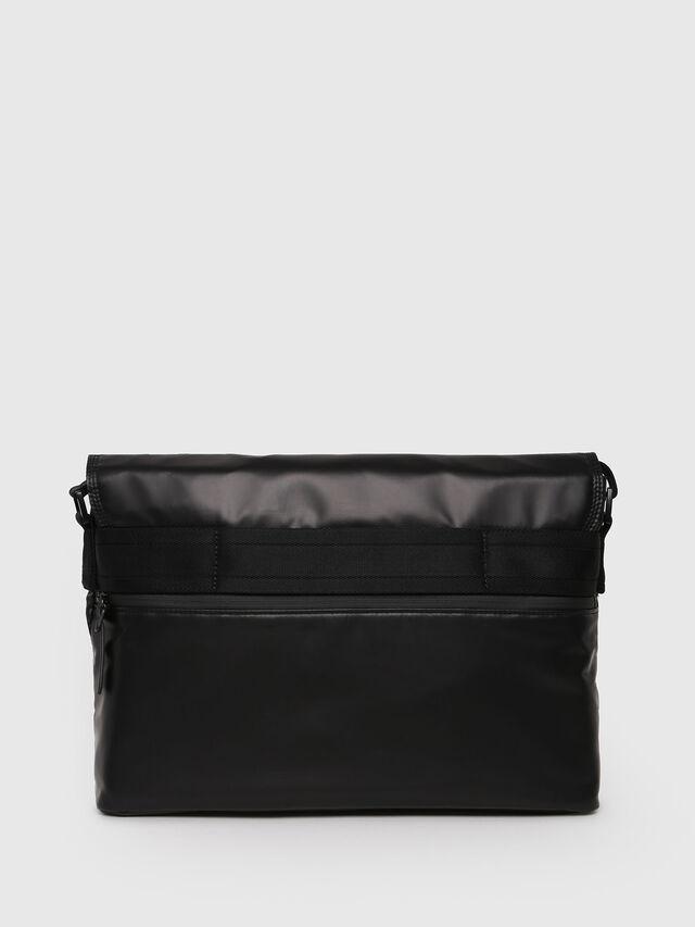 Diesel - F-BOLD MESSENGER, Black - Crossbody Bags - Image 2