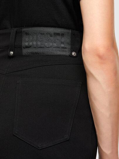 Diesel - O-CROSS, Black - Skirts - Image 5