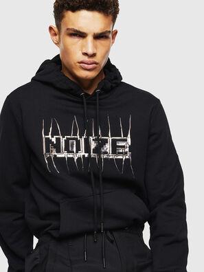 S-GIRK-HOOD-J1, Black - Sweaters