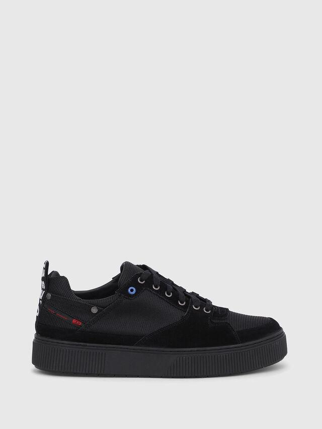 Diesel - S-DANNY LC II, Black - Sneakers - Image 1