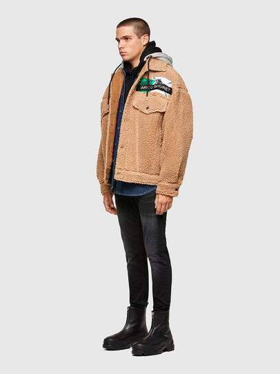 Diesel - W-GARY, Beige - Winter Jackets - Image 6