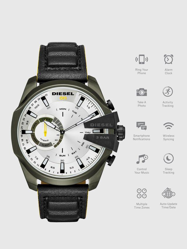Diesel DT1012, Black - Smartwatches - Image 1