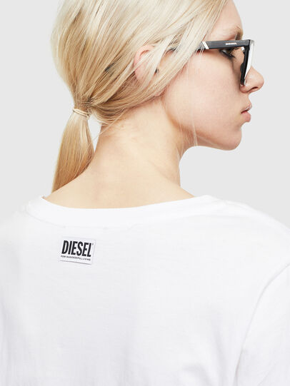 Diesel - T-ROSY-A, White - T-Shirts - Image 3