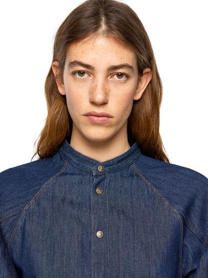 Diesel - DE-NOVA-SP, Blue - Denim Shirts - Image 3