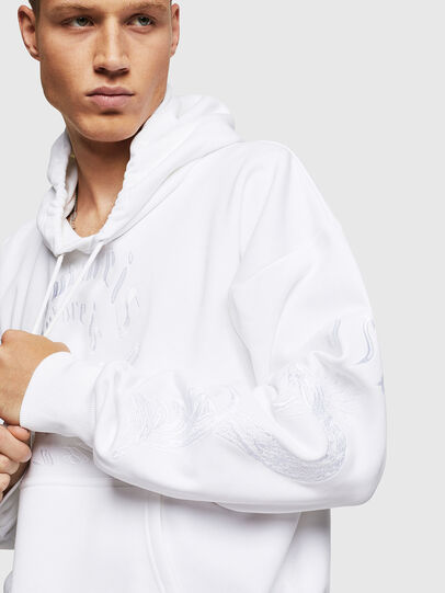 Diesel - S-ALBY-B5, White - Sweaters - Image 3