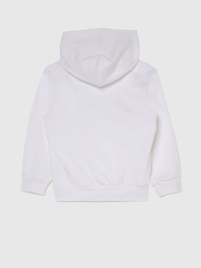 Diesel - SGIRKHOODCUTYX OVER, White - Sweaters - Image 2