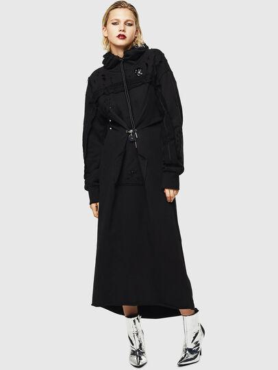 Diesel - D-ILSE-ROUCHE-A, Black - Dresses - Image 1