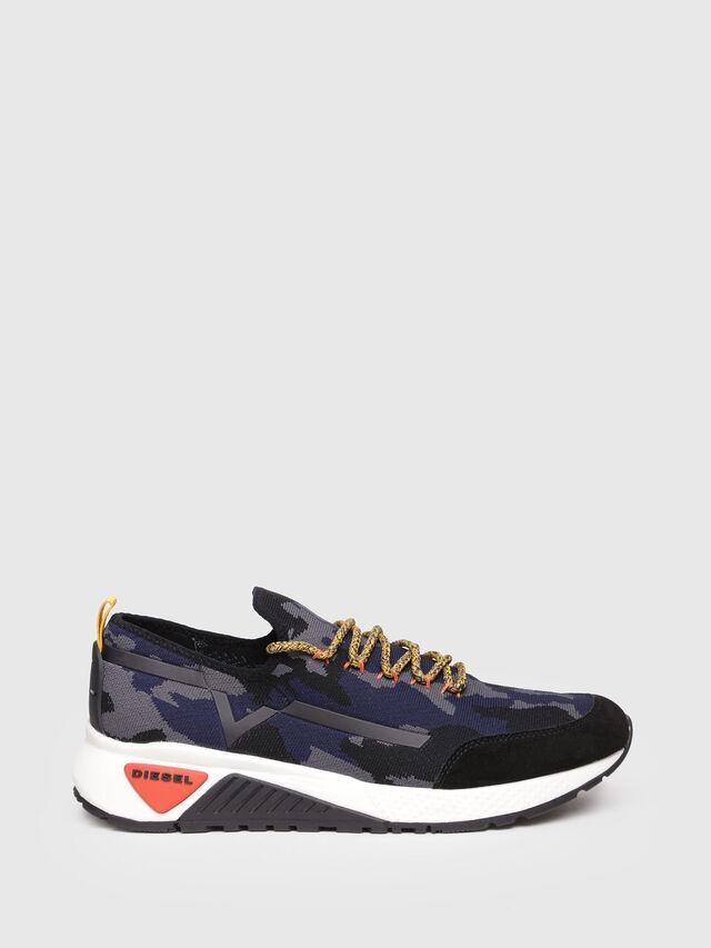 Diesel - S-KBY, Grey/Blue - Sneakers - Image 1