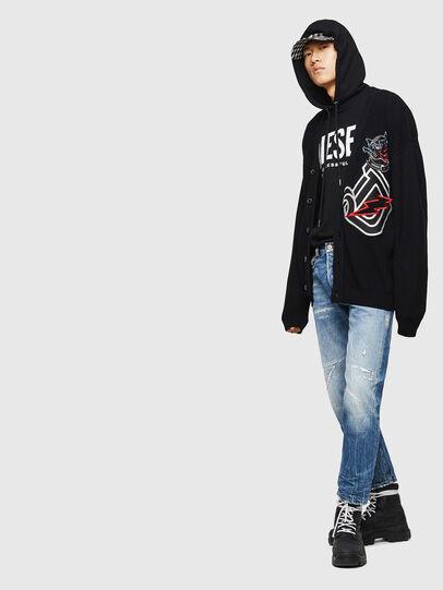 Diesel - K-EXIT, Black - Knitwear - Image 6