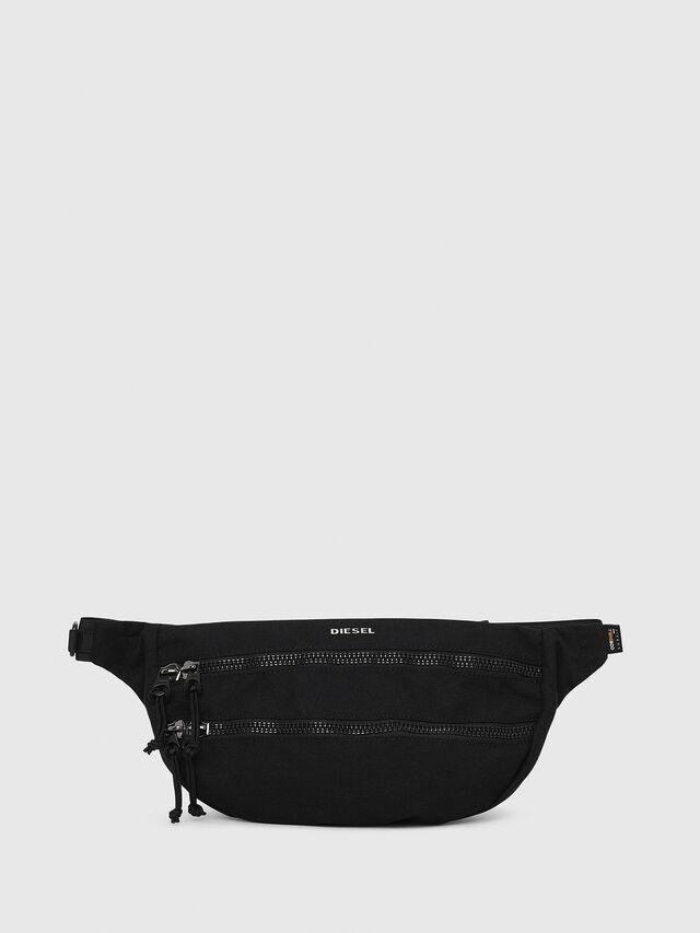 Diesel - F-URBHANITY BUMBAG, Black - Crossbody Bags - Image 1