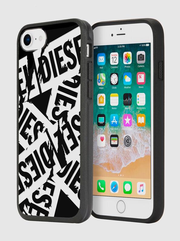 MULTI TAPE BLACK/WHITE IPHONE 8/7/6S/6 CASE,  - Cases