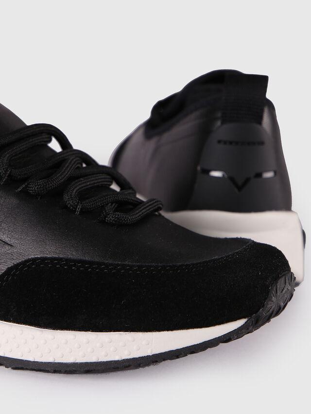 Diesel S-KBY, Black Leather - Sneakers - Image 5