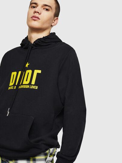 Diesel - S-GIR-HOOD-A1, Black - Sweaters - Image 4