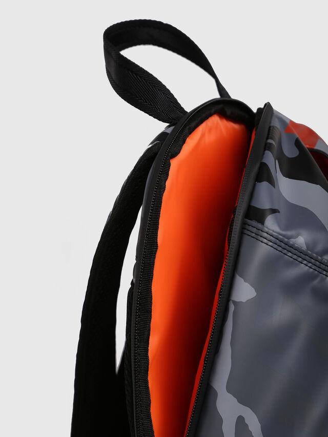 Diesel - F-BOLD BACK, Grey Melange - Backpacks - Image 4