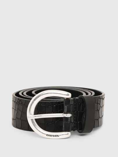 Diesel - B-CRICO, Black - Belts - Image 1