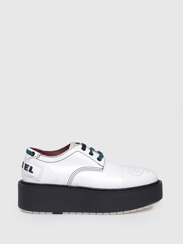 Diesel - D-CAGE LC, White - Flats - Image 1