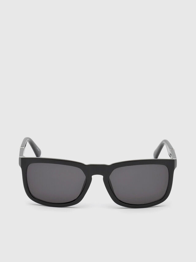 Diesel - DL0262, Black - Sunglasses - Image 1