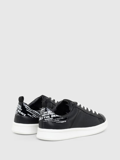 Diesel - SN LOW LACE 11 FULL, Black - Footwear - Image 3