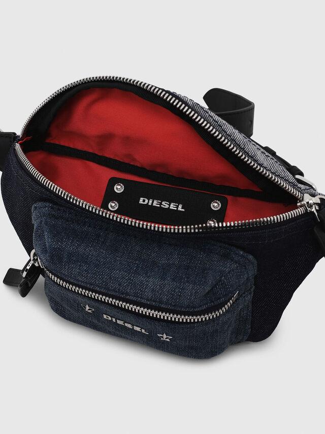 Diesel - F-DESTAR BELTBAG, Blue Jeans - Belt bags - Image 3