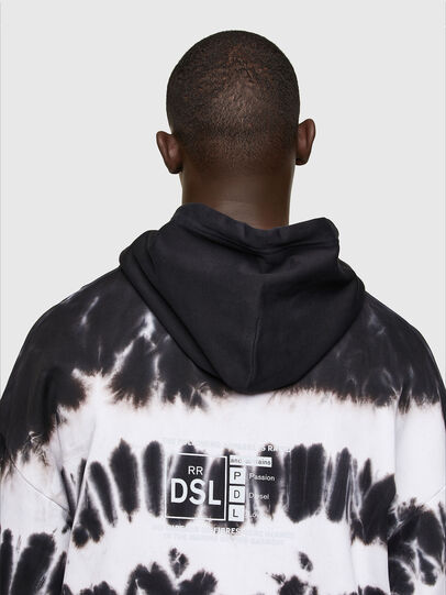 Diesel - S-UMMER-A83, Black/White - Sweaters - Image 3
