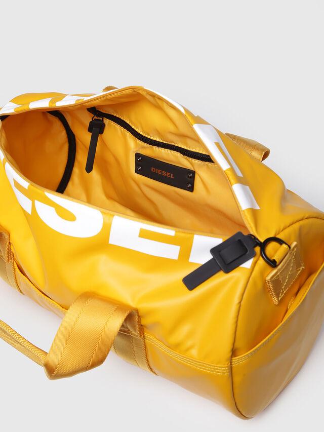 Diesel - F-BOLD DUFFLE FL, Yellow Ocher - Travel Bags - Image 3
