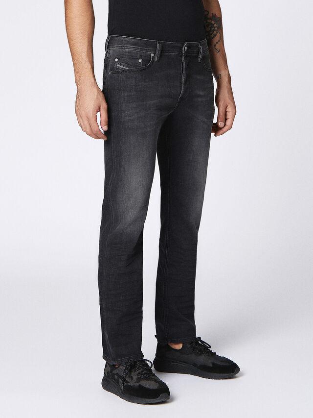 WAYKEE 0687J, Black Jeans