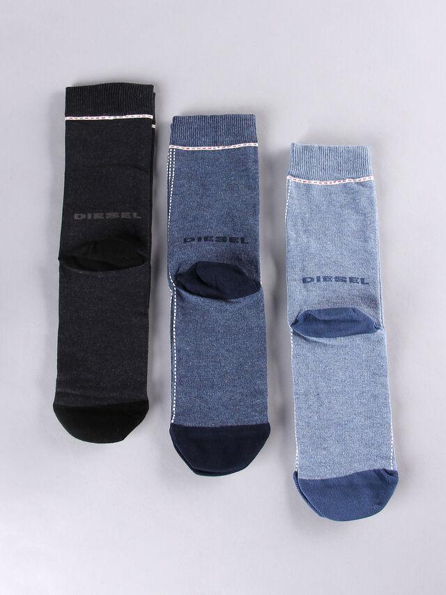 Diesel - SKM-RAY-THREEPACK, Blue/grey melange - Socks - Image 2