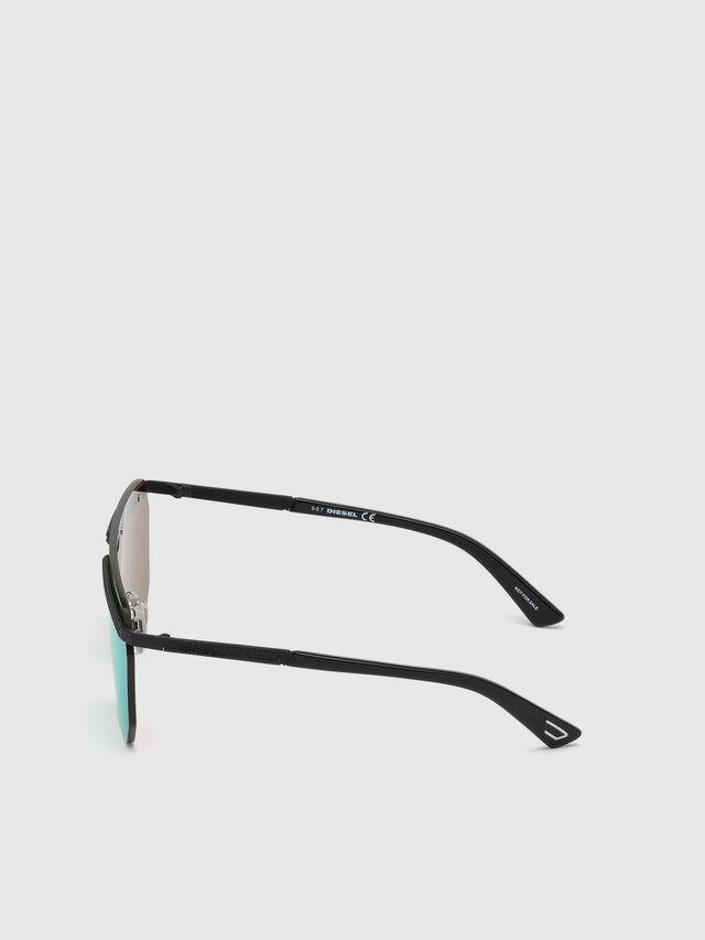 Diesel - DL0259, Green - Sunglasses - Image 3