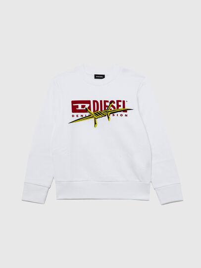 Diesel - SBAYBX5, White - Sweaters - Image 1