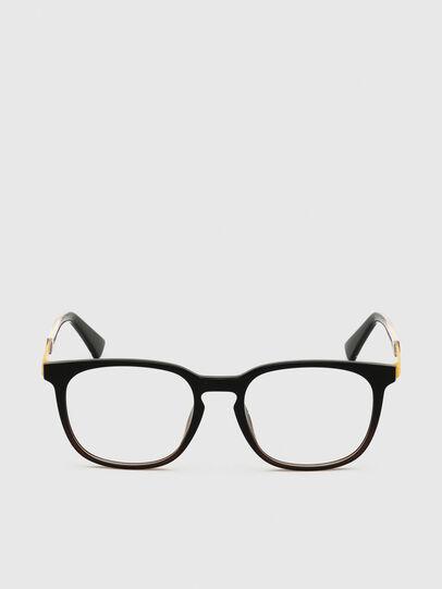 Diesel - DL5349, Black/Yellow - Eyeglasses - Image 1