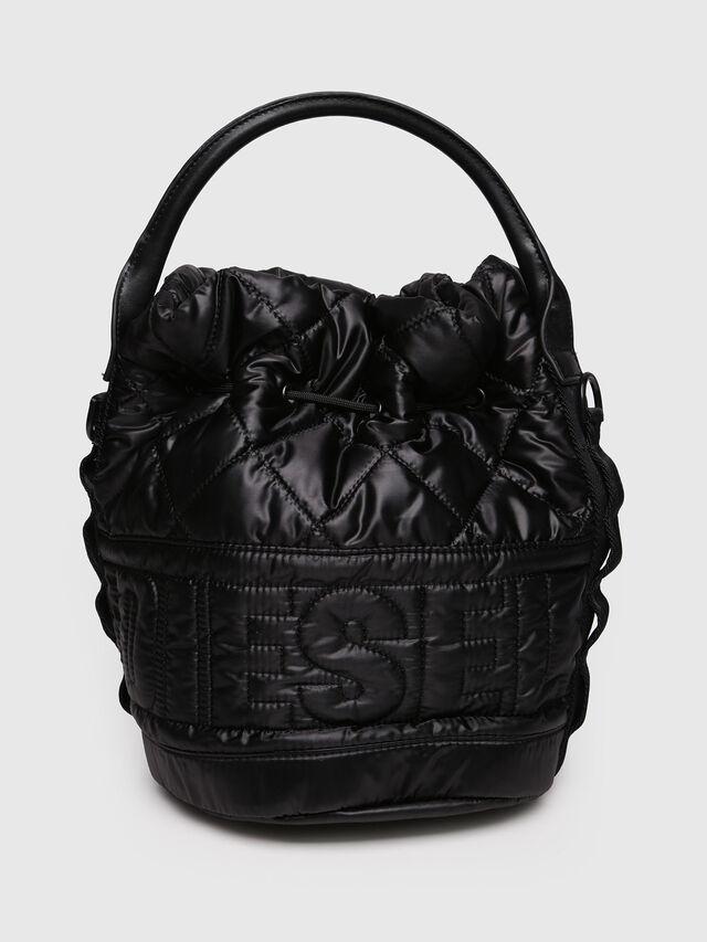 Diesel - NYDUVET BUCKET, Black - Crossbody Bags - Image 2