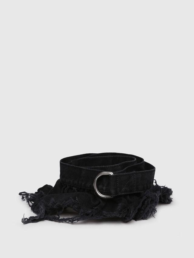 Diesel - B-RUFFLE, Black Jeans - Belts - Image 1