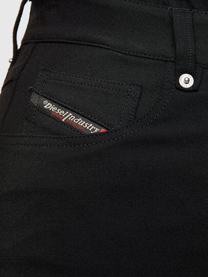 Diesel - O-CROSS, Black - Skirts - Image 4