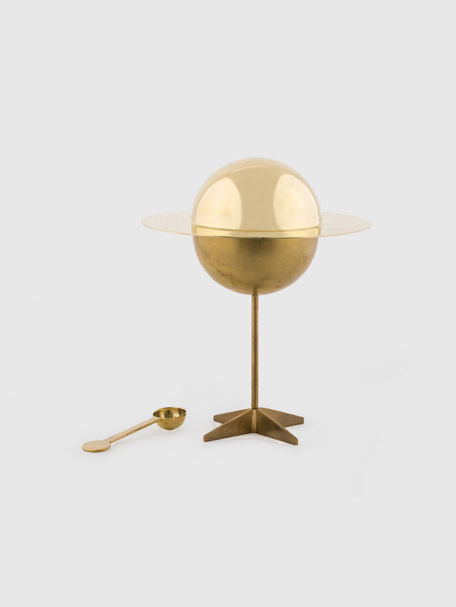 Living 10874 COSMIC  DINER, Gold - Home Accessories - Image 1