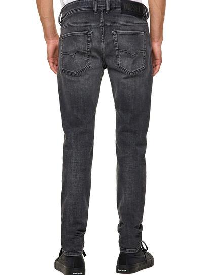 Diesel - Sleenker 09A18, Black/Dark grey - Jeans - Image 2