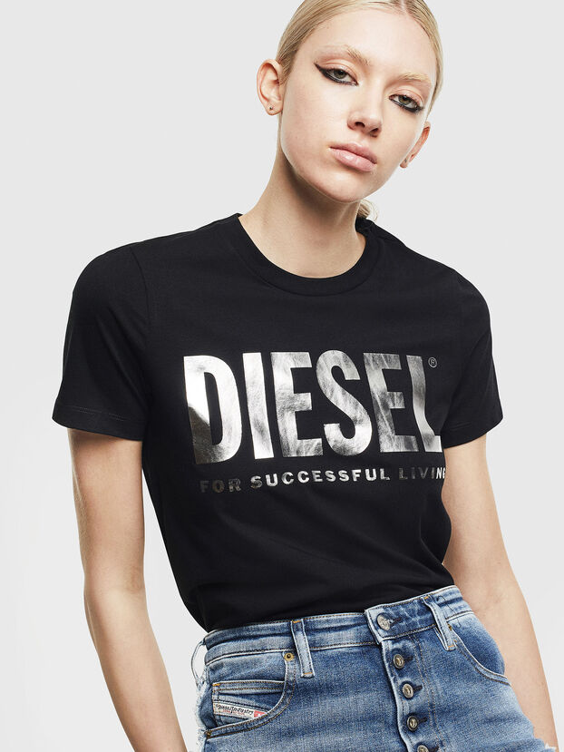 T-SILY-WX, Black/Silver - T-Shirts