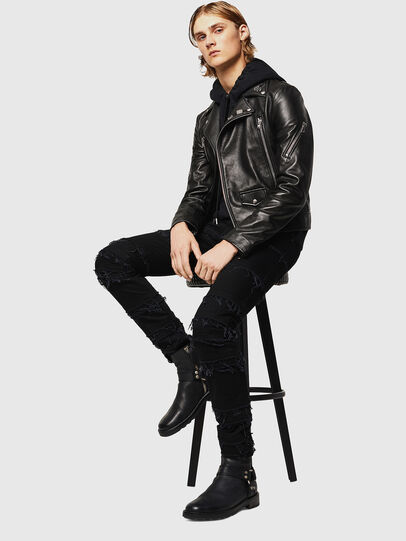 Diesel - L-PERF,  - Leather jackets - Image 6