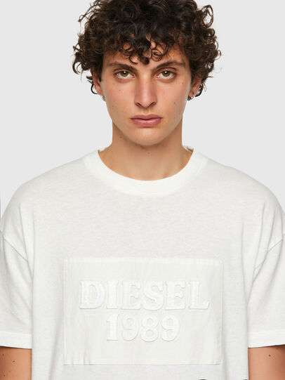 Diesel - DxD-20, White - T-Shirts - Image 4