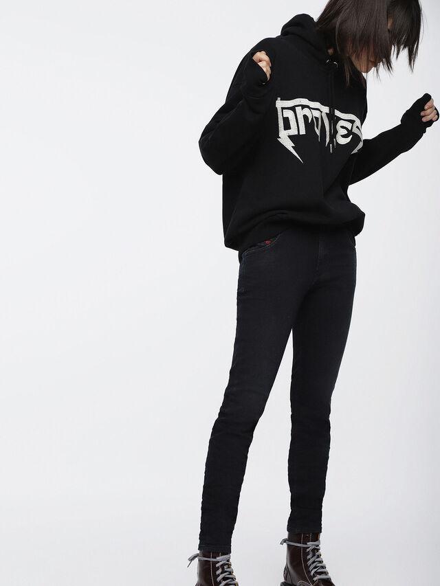 Diesel - Krailey JoggJeans 069CM, Black/Dark grey - Jeans - Image 4