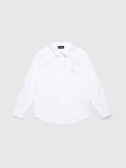 Diesel - CSBILL, White - Shirts - Image 1
