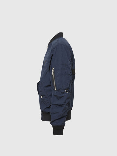 Diesel - J-DUST-KA, Dark Blue - Jackets - Image 3