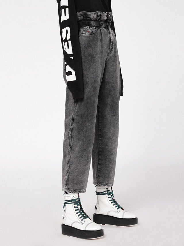 Diesel - Kalley JoggJeans 069AU, Black/Dark grey - Jeans - Image 3