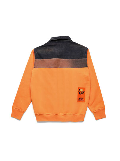 Diesel - D-BNHILL-S, Orange - Sweaters - Image 2
