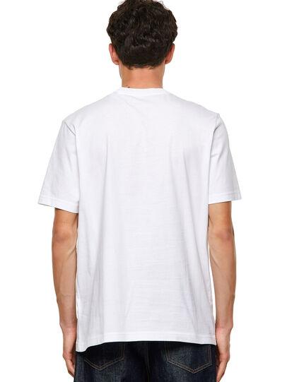 Diesel - T-JUST-B60, White - T-Shirts - Image 2