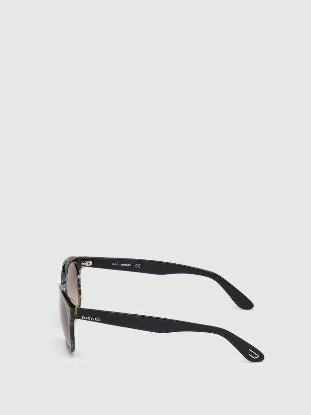 Diesel - DM0190, Blue/Black - Eyewear - Image 3