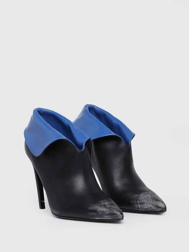 Diesel - D-SLANTY HA, Black/Blue - Ankle Boots - Image 3