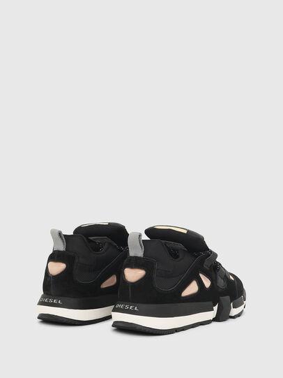 Diesel - H-PADOLA SL W, Black/Yellow - Sneakers - Image 3
