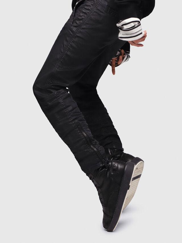 Diesel - D-Earby JoggJeans 0688U, Black/Dark grey - Jeans - Image 4
