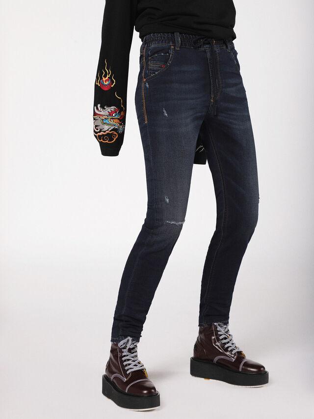 Diesel - Krailey JoggJeans 0699W, Dark Blue - Jeans - Image 1