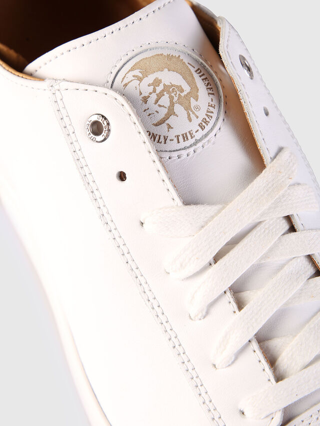 Diesel - S-NENTISH LOW, White - Sneakers - Image 6